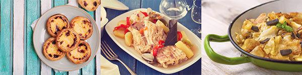 La cuisine du Portugal