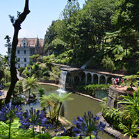 Les jardins tropicaux du Palais de Monte