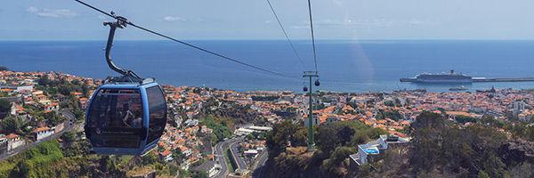 Le téléphérique de Funchal