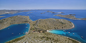 Le parc national des Kornati