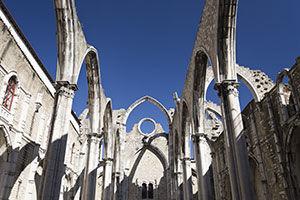 Eglise do Carmo, quartier du Chiado