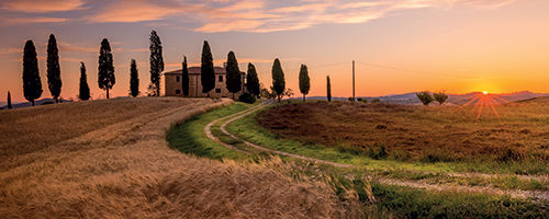 Les villes de Toscane