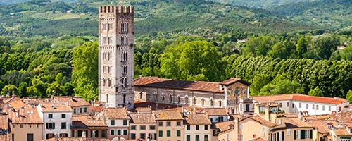 Lucques en Toscane