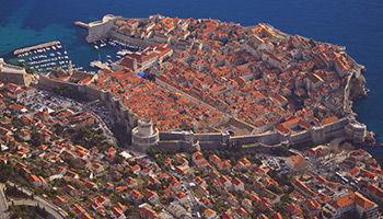Vue panoramique de Dubrovnik