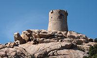 La tour de Senetosa en Corse