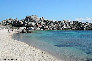 Plage des îles Lavezzi