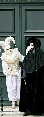 Carnaval de Venise - Costume Médecin de la Peste