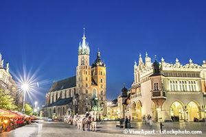 Cracovie en hiver