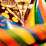 Cotillons et champagne
