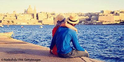 Couple à Malte
