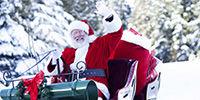 Le Père Noël à Rovaniemi