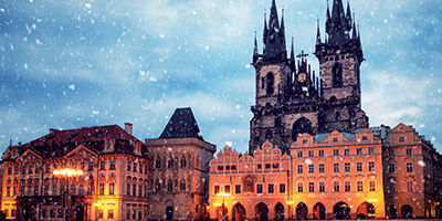 Hiver à Prague