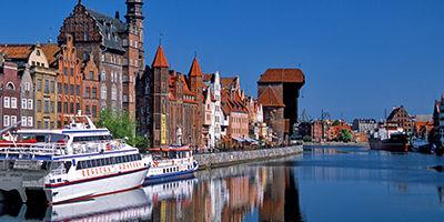 La ville de Gdansk