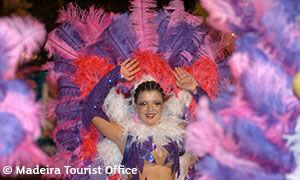 Danseuse du carnaval de Funchal