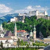 Salzbourg en Autriche