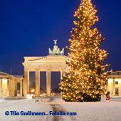 Sapin de Noël à Berlin