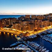 Week-end Monaco - Vue de nuit