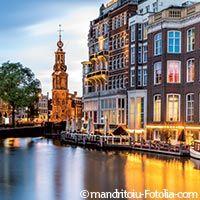 visite des canaux d'Amsterdam Pays-Bas