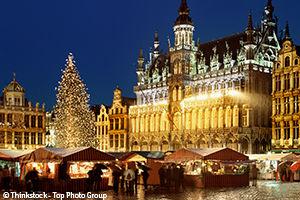 Marché de Noel à Bruxelles
