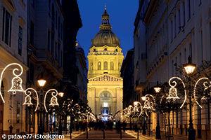 Marché de Noel à Budapest