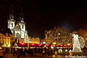 Marché de Noel à Prague