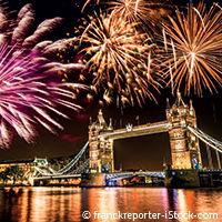 Réveillon du nouvel an 2015 à Londres