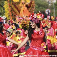 Vacances en famille à Madère - fête des fleurs