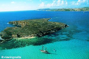 Blue lagoon - Malte