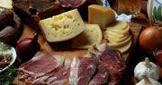 Charcuterie et fromage de Croatie