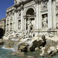 Fontaine de Trevi - voyage en Italie