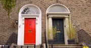 Vue typique de Dublin