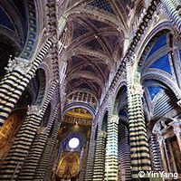 Voûte cathédrale de Sienne