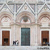 Cath drale de sienne circuit en italie visit europe - Facade terre de sienne ...