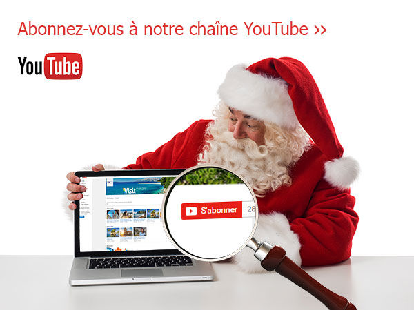 Abonnez-vous à la chaine youtube de Visit Europe