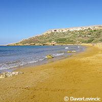 Les plages de l'île de Gozo - voyage à Malte