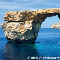 azur window ile de gozo - voyage à Malte