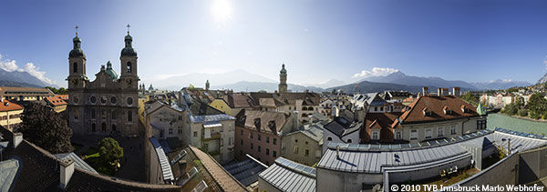 Guide touristique Autriche- Innsbruck