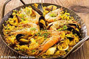 Guide touristique Espagne - Paella