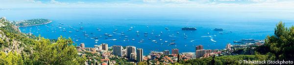 Vue panoramique de Monaco