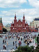 Place rouge à Moscou
