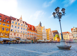 Wroclaw en Pologne