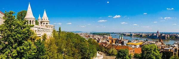 Le Bastion des pêcheurs à Budapest, en Hongrie