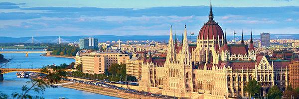 Le parlement de Budapest, en Hongrie