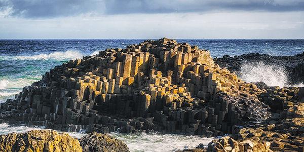 La Chaussée des Géants, en Irlande