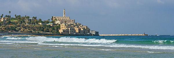 Vue de Jaffa, en Israël