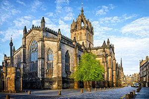 La Cathédrale d'Édimbourg, en Écosse
