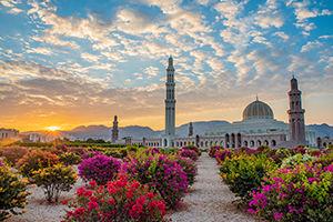 La mosquée de Mascate, à Oman