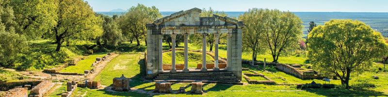 Le site archéologique d'Apollonia en Albanie