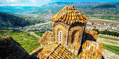 Église orthodoxe de Berat en Albanie