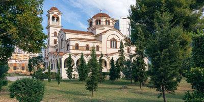 Église orthodoxe de Durrës en Albanie